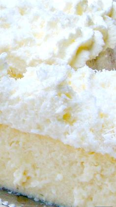Coconut Ricotta Cheesecake ~ A wonderful fluffy, soft & creamy baked cheesecake...out of this world!