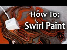 How To Make Paint Swirls with Liquitex Pouring Medium - YouTube
