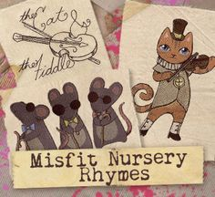 Misfit Nursery Rhymes (Design Pack) | Urban Threads: Unique and Awesome Embroidery Designs