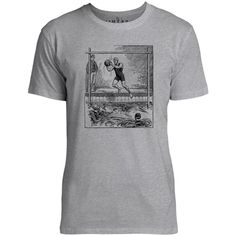 Mintage Vintage Water Polo Mens Fine Jersey T-Shirt (Grey Marle)
