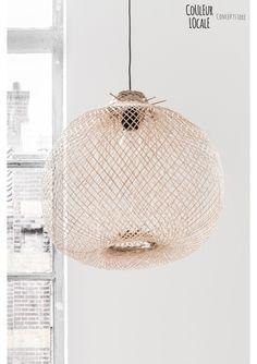 Bamboo Hanglamp Bloomingville Bamboo Pendant Light, Lamp, Round Pendant Light, Pendent Lighting, Bamboo Lamp, Pendant Lamp, Lights, Light, Living Design