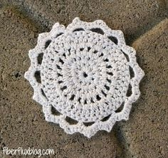 Fiber Flux...Adventures in Stitching: Free Crochet Pattern...Bamboo Lace Motif