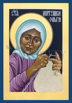 Matushka Olga Michael | Catholic Christian Religious Art - Icon by Br ...