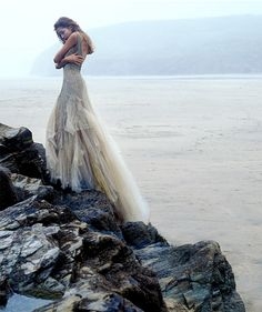 Mermaid inspired shoot