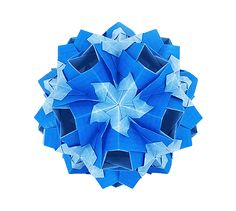 Kusudama, my design, origami, paper folding, modular origami, unit origami, tutorials Кусудама, модульное оригами, туториал