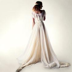 Wedding dress Bohemian wedding dress Lace wedding by larimeloom