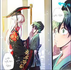 Boku no Hero Academia ¦ ¦ Todoroki Shouto,Midoriya Izuku