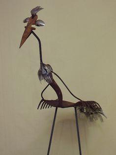 another metal bird
