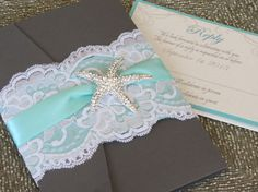 POCKETFOLD SAMPLE Invitation Sample of your by peachykeenevents