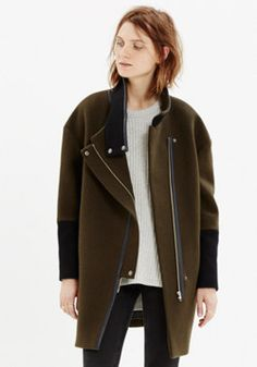 Madewell: City Grid Coat A girl can dream, right?