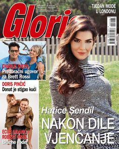 Hatice Sendil na naslovnici časopisa Gloria. - www.gloria.hr #gloria