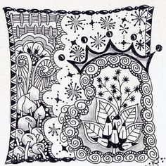 King of my Heart ~Official Zentangle Tile~ NFT