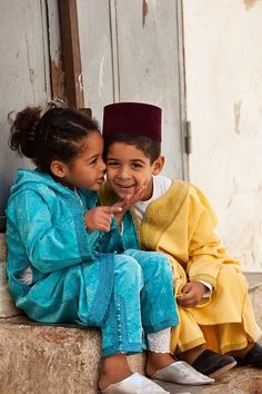 So cute...i love the moroccan clothes