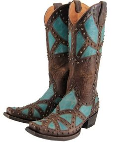Stages West: Old Gringo Paola Cowgirl Boot
