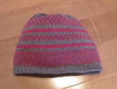 Shannon Maria Knits: Fair Isle Hat on the Brother Addi Knitting Machine, Knitting Machine Patterns, Knitting Needles, Hand Knitting, Bind Off, Stockinette, Knitting Projects, Hat, Beanie