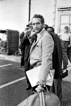 paul newman in suit