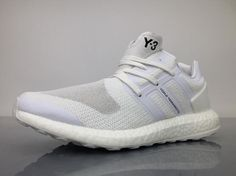 479aa302f Adidas Pure Boost Y-3 Yohji Yamamoto Triple White BY8955 Sneaker for Sale2 Y  3