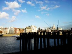 by the Thames