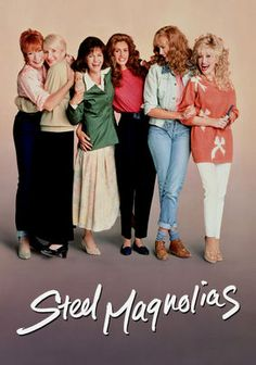 Steel Magnolias is a 1989 American comedy-drama film directed by Herbert Ross that stars Sally Field, Shirley MacLaine, Olympia Dukakis, Dolly Parton, Daryl Hannah and Julia Roberts. 80s Movies, Great Movies, Movies To Watch, Plane Movies, Awesome Movies, Indie Movies, Action Movies, Awesome Things, Films Cinema