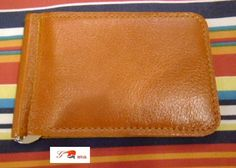 brown Leather money clip wallet by brand G2P by G2Pleather on Etsy, $19.49