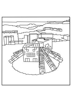 minecraft spider coloring page scribblefun