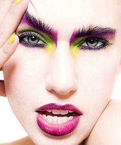 Makeup: Elaine Harrison  Website: www.elaineharrisonmakeupartistry.com  Photographer/Model: Unknown