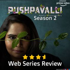 The lively Sumukhi Suresh returns with Prime Video's Pushpavalli Season 2, featuring familiar faces, old habits, fresh intentions, and a lot more madness! Here's our review. Amazon Prime Video, Web Series, Season 2, Madness, Fiction, Faces, Image, Face, Facial