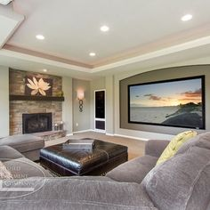 Basement Photos Design Ideas, Pictures, Remodel, and Decor - page 20