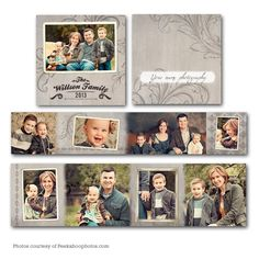 Mionika Accordion Mini Book - available through Jen Boutet Photography with your portrait session - in Charlottesville, Va.