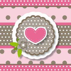 Geboortekaartjes - vrolijke geboortekaart 147 hart