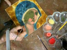 ▶ Egg Tempera painting demonstration by Mary Jane Miller in San Miguel de Allende. - YouTube