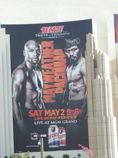 Boxeo, leyenda y la arena perfecta  La megapelea será en la Grand Garden Arena del MGM, ante poco más de 16.000 espectadores, algunos de los cuales habrán pagado cerca de 300.000 dólares por el privilegio de verla en asientos de ring side.  Mayweather (47-0, 26 ko's) y Pacquiao (57-5-2, 38 ko's) son como de la casa. El primero ha realizado 13 peleas de título mundial en esa sede, y el filipino 10 pleitos del orbe.