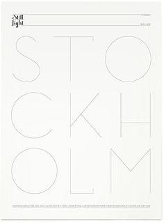 / stockholm - the font