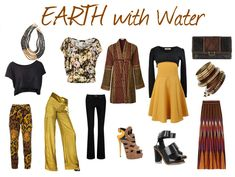expressing your truth blog: Dominant Earth with Secondary Elements: Fashion Feng Shui