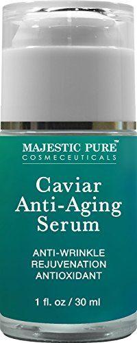Majestic Pure Anti Aging Serum, Antioxidant Blue Marine Algae Caviar Anti Wrinkle Serum, Skin Rejuvenation & Nourishment, 1 fl oz * Be sure to check out this awesome product.