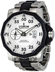 Corum Admirals Cup Challenger 48 Titanium Mens Watch 94795195V791-AK14 $6,562.50