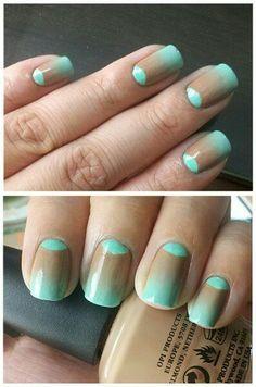 Nails  #nail #unhas #unha #nails #unhasdecoradas #nailart #gorgeous #fashion #stylish #lindo #cool #cute #fofo #mint #pastel