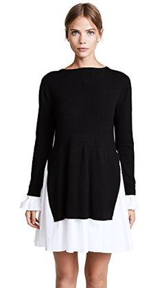 online shopping for English Factory Women's Knit Combo Dress from top store. See new offer for English Factory Women's Knit Combo Dress Day Dresses, Dresses Online, Cute Dresses, Dresses For Work, Dress Work, Occasion Dresses, Casual Dresses, Shops, Combo Dress
