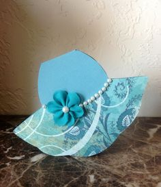 Hat Party, Dress Card, Shaped Cards, Cute Hats, Girl With Hat, Diy Cards, Homemade Cards, Quilting Designs, Card Ideas