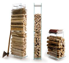 Modern way to store your wood