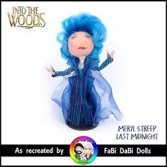 sondheim Into the woods Meryl Streep Last midnight witch FaBi Dabi Peg Doll