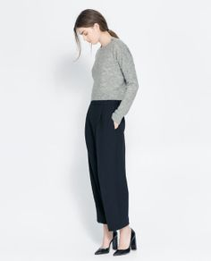 Image 1 of SHORT SWEATER from Zara