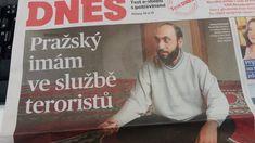 """MF Dnes tři dny před druhým kolem přímé volby vyšla s otvírákem """"Pražský imám ve službě teroristů"""""""