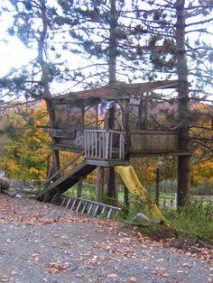 I believe its a tree house... :)