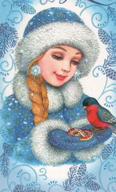 Image result for Ded Moroz and Snegurochka cake