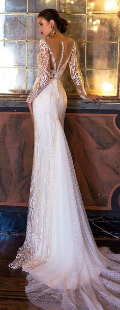 Wedding Dress by Milla Nova White Desire 2017 Bridal Collection - Fidela