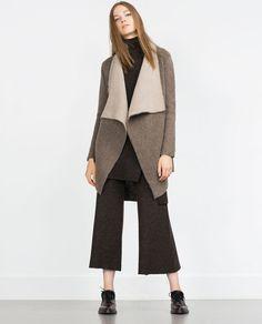 V-NECK JACKET-Cardigans-Knitwear-WOMAN   ZARA United States