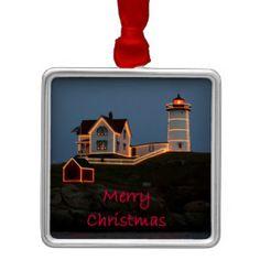 Nubble Light Christmas Christmas Ornaments IMAGES&DEZIGNS