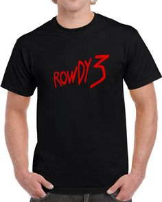 f7cfe01f Dirk Gently's Rowdy 3 - Classic Black T-shirt based on the Douglas Adams  novel series of the same name. by CraigGreinerArt on Etsy