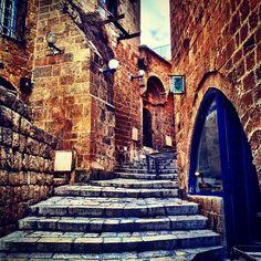 @kewiki The stairways of Jaffa.